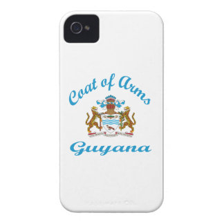 Coat Of Arms Guyana iPhone 4 Case-Mate Case