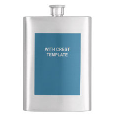 Coat Of Arms Hip Flask at Zazzle