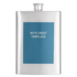 Coat of Arms Hip Flask