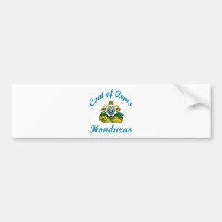 Coat Of Arms Honduras Car Bumper Sticker