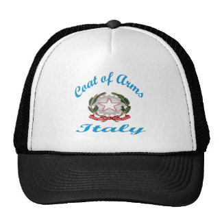 Coat Of Arms Italy Trucker Hat