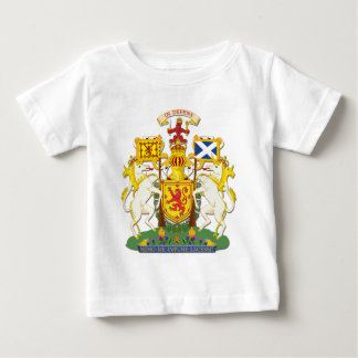 Coat Of Arms Kingdom Of Scotland Baby T-Shirt