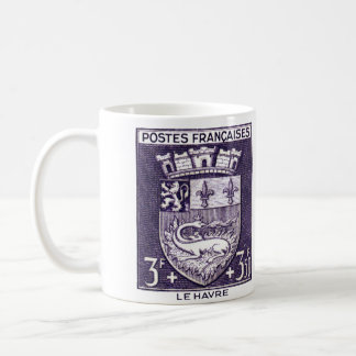 Coat of Arms, La Havre France Coffee Mug