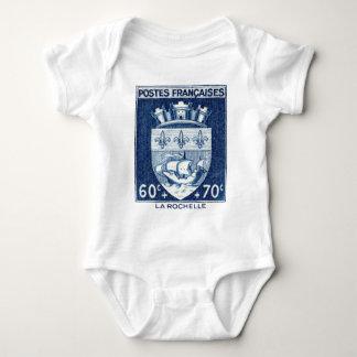 Coat of Arms, La Rochelle France Baby Bodysuit