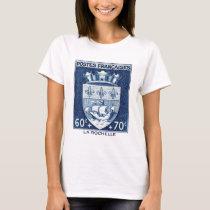 Coat of Arms, La Rochelle France T-Shirt