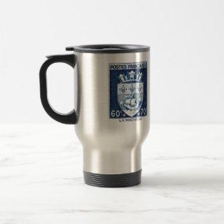 Coat of Arms, La Rochelle France Travel Mug
