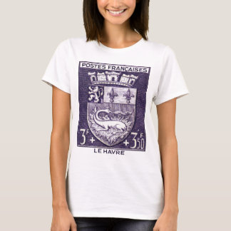 Coat of Arms, Le Havre France T-Shirt