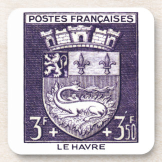 Coat of Arms, Le HavreFrance Drink Coaster