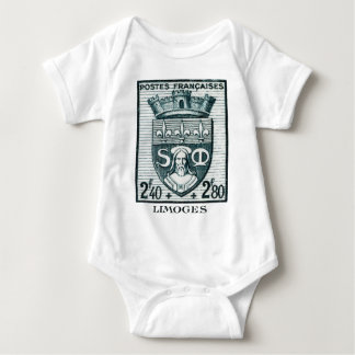 Coat of Arms, Limoges France Baby Bodysuit