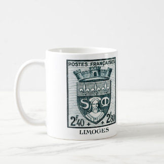 Coat of Arms, Limoges France Coffee Mug
