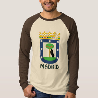 Coat of Arms Madrid Spain T Shirt