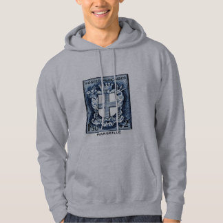 Coat of Arms, Marseille France Hoodie