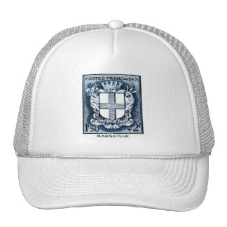 Coat of Arms, Marseille France Trucker Hat