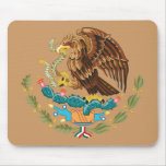 Coat of Arms Mexico Mouse Pads