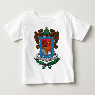 Coat of arms Michoacan Official Mexico Symbol Logo Baby T-Shirt