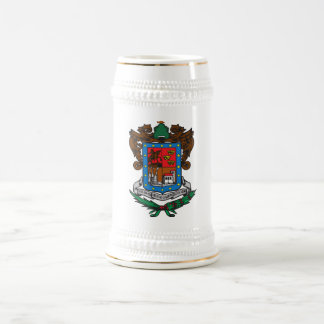 Coat of arms Michoacan Official Mexico Symbol Logo Beer Stein