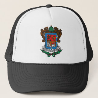 Coat of arms Michoacan Official Mexico Symbol Logo Trucker Hat