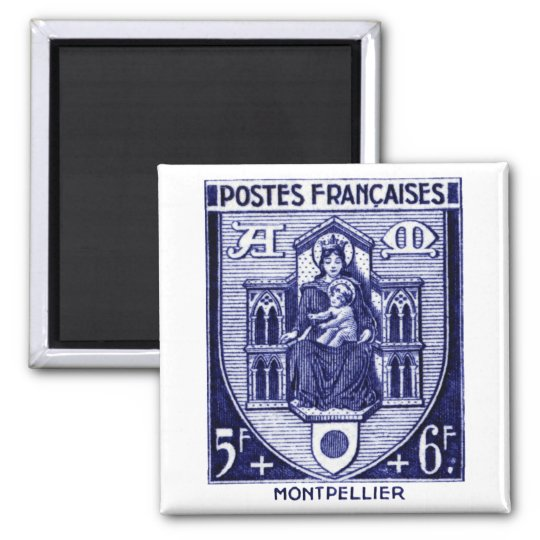 Coat of Arms, Montpellier France Magnet