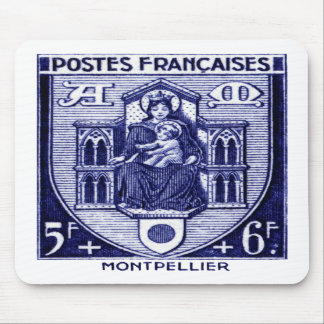 Coat of Arms, Montpellier France Mouse Pad