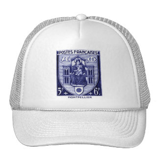 Coat of Arms, Montpellier France Trucker Hat
