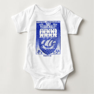 Coat of Arms, Nantes France Baby Bodysuit
