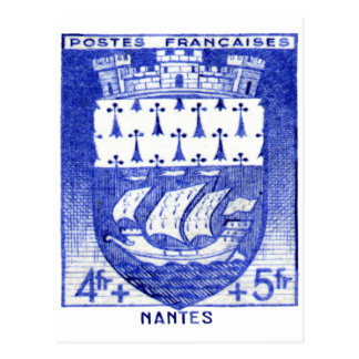 Coat of Arms, Nantes France Postcards
