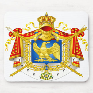 Coat of arms Napoleon  Mousepad