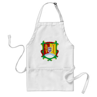 Coat of arms Nayarit Official Mexico Heraldry Logo Adult Apron