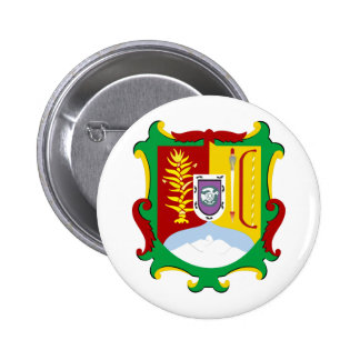 Coat of arms Nayarit Official Mexico Heraldry Logo Pinback Button