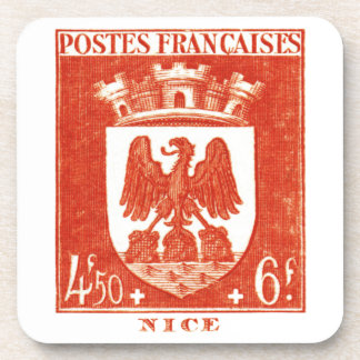 Coat of Arms, Nice France Coaster