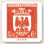 Coat of Arms, Nice France Coasters