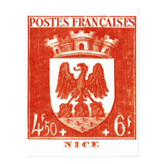 Coat of Arms, Nice France Post Cards