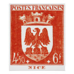 Coat of Arms, Nice France Poster