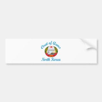 Coat Of Arms North Korea Bumper Sticker