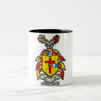 "Coat of Arms ""ODonnell Two-Tone Coffee Mug"