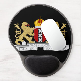 Coat of arms of Amsterdam Gel Mouse Pad
