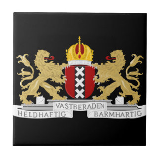 Coat of arms of Amsterdam Tile