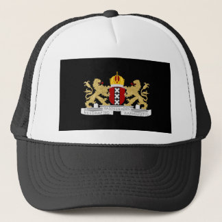 Coat of arms of Amsterdam Trucker Hat