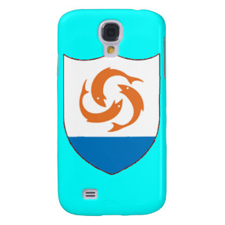 Coat of arms of Anguilla Galaxy S4 Case