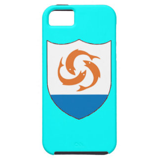 Coat of arms of Anguilla iPhone 5 Case-Mate Tough™ iPhone SE/5/5s Case