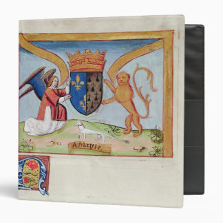 Coat of Arms of Anne of Brittany  1515 Binder