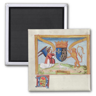 Coat of Arms of Anne of Brittany  1515 Refrigerator Magnets