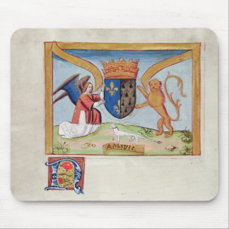 Coat of Arms of Anne of Brittany  1515 Mouse Pad