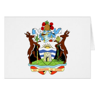 Coat of arms of Antigua and Barbuda Card
