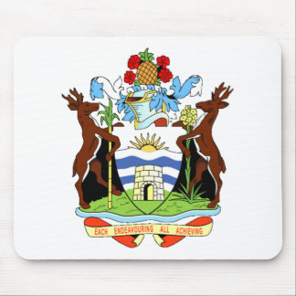 Coat of arms of Antigua and Barbuda Mouse Pads