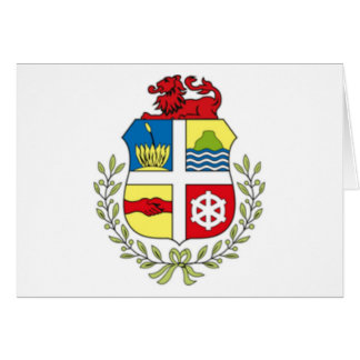 Coat of arms of Aruba Greeting Cards