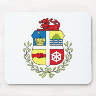 Coat of arms of Aruba Mouse Pad