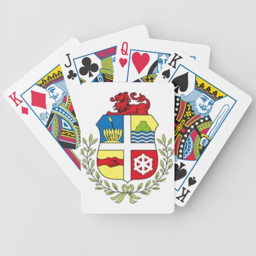 Coat of arms of Aruba Playing Cards