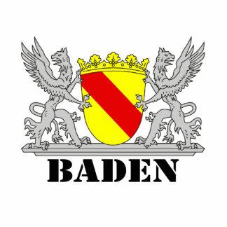 Coat of arms of Baden of Baden seize mi writing ba Cutout