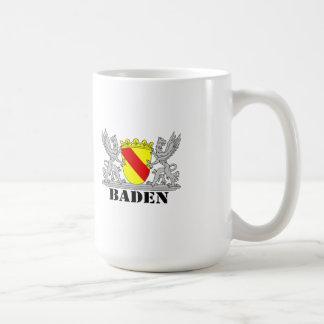 Coat of arms of Baden of Baden seize mi writing ba Classic White Coffee Mug